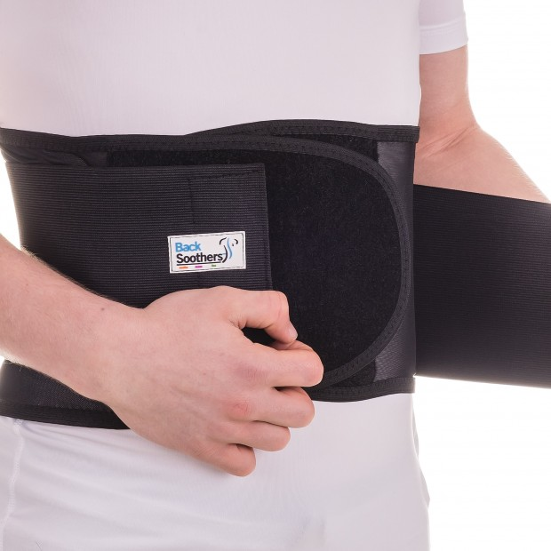 BackSoothers Magnet Therapy Heavy Duty Lumbar Back Support